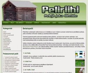 Peliriihi.com sivusto